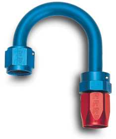 Full Flow Swivel Hose End 180 Deg. End