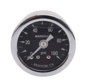Fuel Pressure Gauge 1.5 in. Gauge 650340