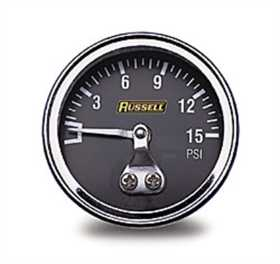Fuel Pressure Gauge 1.5 in. Gauge 650350
