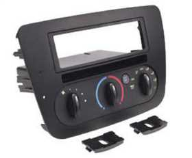 Custom Fit Integrated Control Panel Single DIN w/Pocket Dash Kit