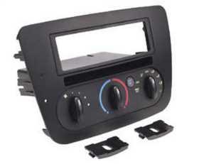 Custom Fit Integrated Control Panel Single DIN w/Pocket Dash Kit