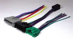 High Power Head Unit Replacement Wire Harness Kit