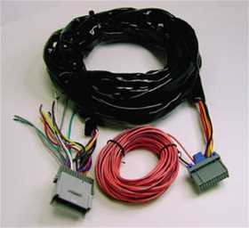 Custom Fit Radio Relocation Wire Harness