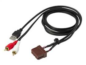 Custom Fit USB / AUX Input Retention Wire Harness