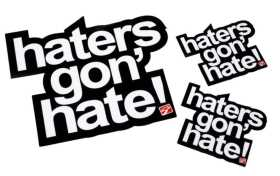 Hater Decal Pack