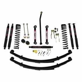 Softride Leaf Spring System Suspension Lift Kit JC4558KSBLT