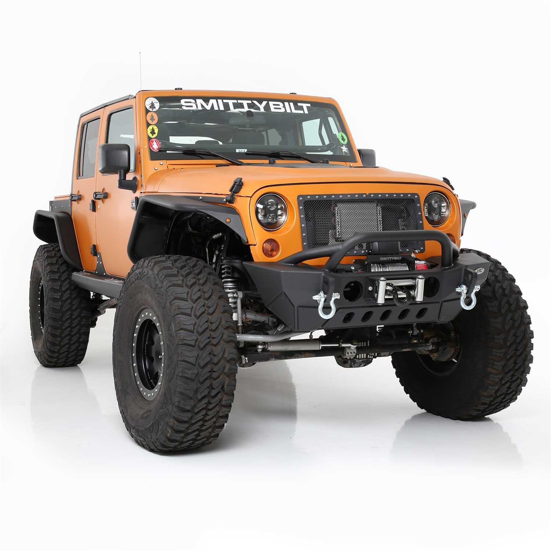 Smittybilt Xrc Front Bumper >> 76807lt Smittybilt Xrc Front Bumper 76807lt