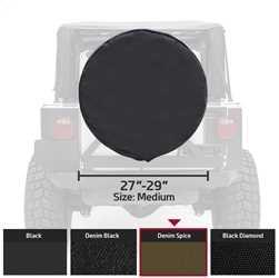 Smittybilt 772917 Spice Medium Spare Tire Cover