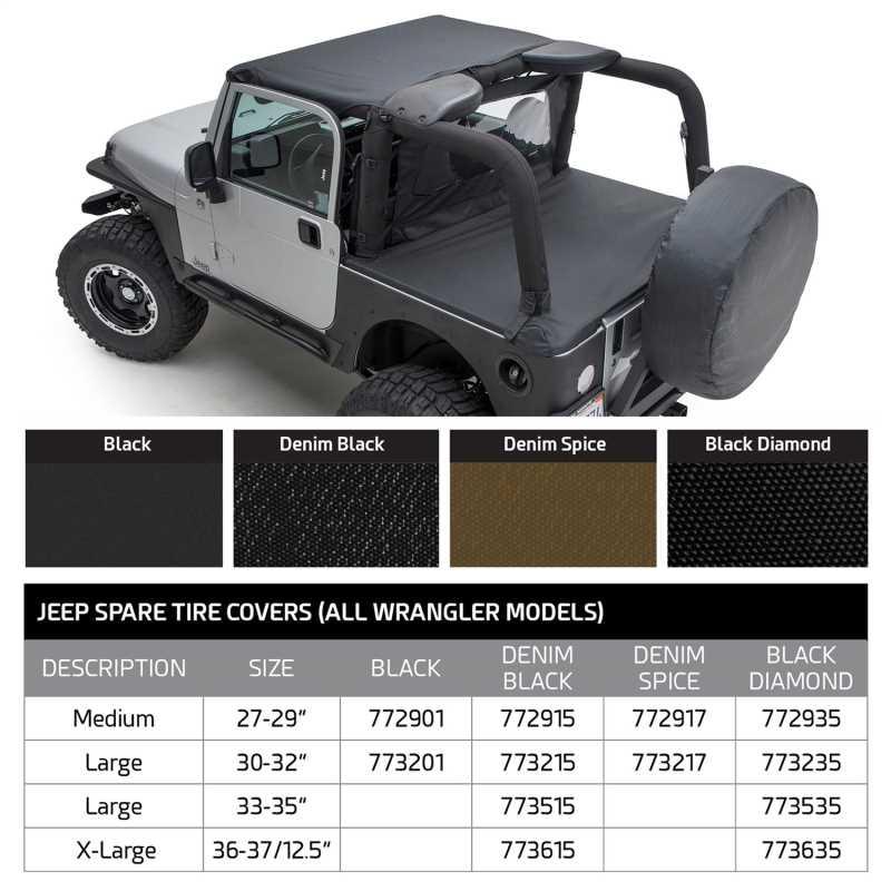 Spare Tire Cover 773217