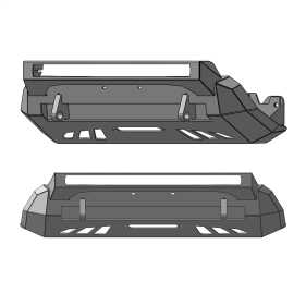 Winch Utility Front Bumper