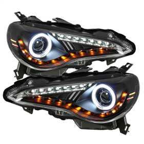 CCFL Halo DRL LED Projector Headlights
