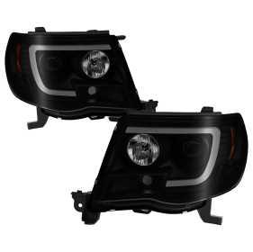 Light Bar DRL Projector Headlights