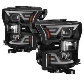 DRL LED Light Bar Projector Headlights