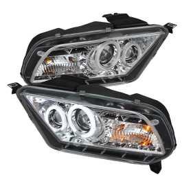 CCFL DRL LED Projector Headlights
