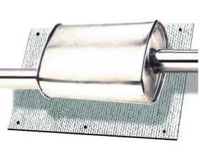 Muffler/CAT Mylar Heat Shield
