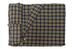 Ayer 2 Plaid Flannel Fitted Sheets