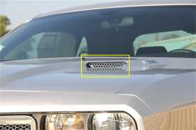 T1 Series Hood Scoop
