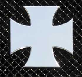 X-Metal Series Rebel Iron Cross Grille Badge