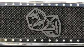 X-Metal Series The Hustler Grille Badge
