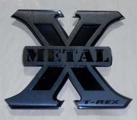 X-Metal Series Logo Badge 6710016