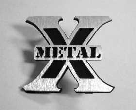 X-Metal Series Logo Badge