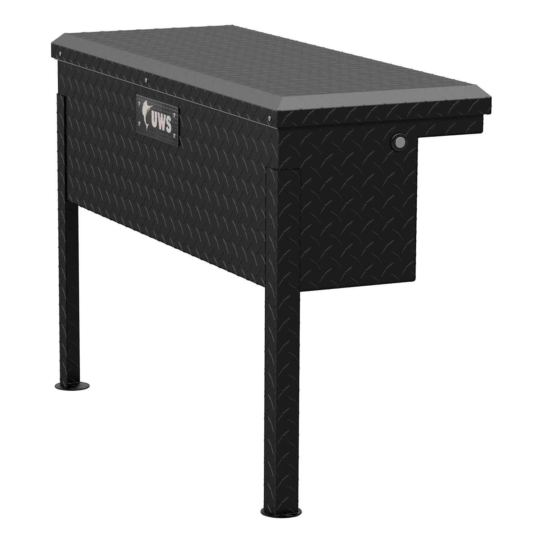 UWS Side Mount Series Single Lid Tool Box TBSM-36-LP-MB TBSM-36-LP-MB