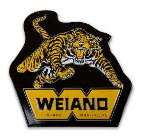 Weiand Tiger Metal Sign