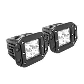 FM4Q LED Flush Mount Auxiliary Lights