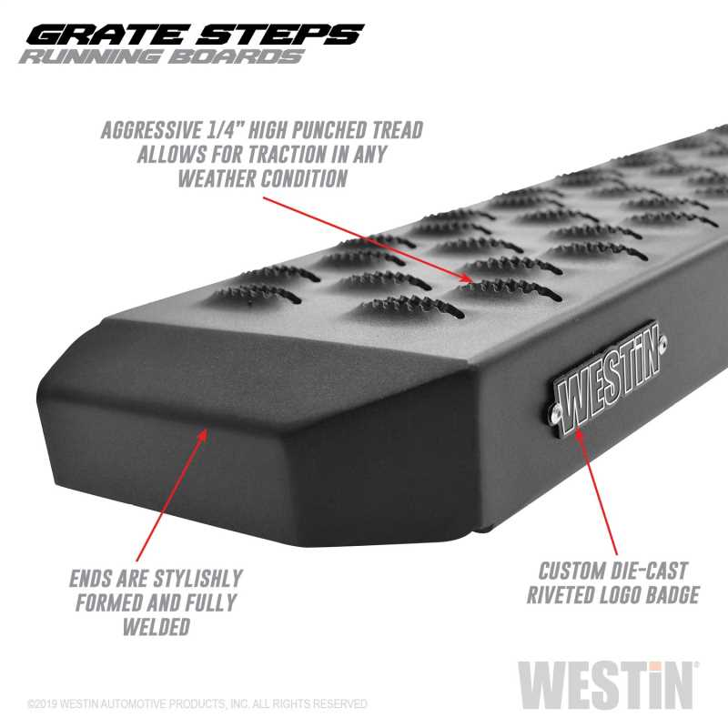 Grate Steps Running Boards 27-74715