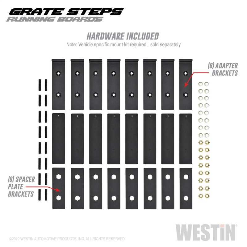 Grate Steps Running Boards 27-74725