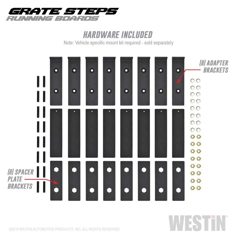 Grate Steps Running Boards 27-74765