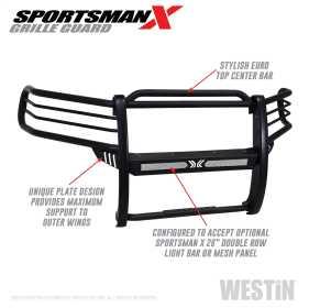 Sportsman X Grille Guard 40-33825