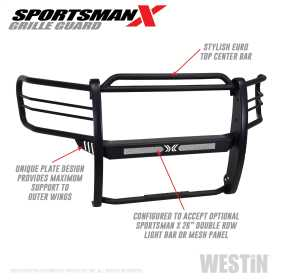 Sportsman X Grille Guard 40-33835