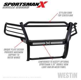 Sportsman X Grille Guard 40-33845