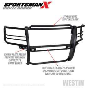 Sportsman X Grille Guard 40-33875