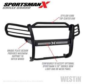 Sportsman X Grille Guard 40-33885