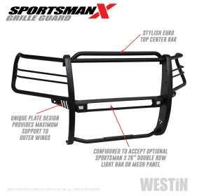 Sportsman X Grille Guard 40-33955