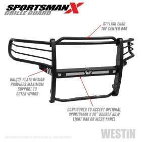 Sportsman X Grille Guard 40-33975