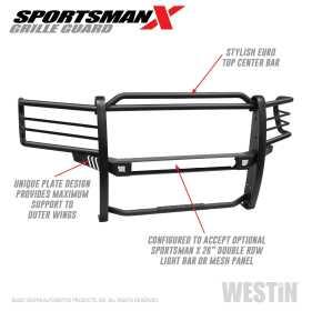 Sportsman X Grille Guard 40-34025