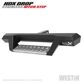 HDX Stainless Drop Hitch Step