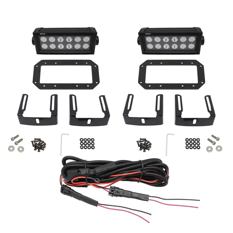 HDX Flush Mount B-FORCE LED Light Kit- Alamo Auto Supply on