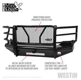 HDX Bandit Front Bumper 58-31115