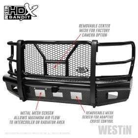 HDX Bandit Front Bumper 58-31125