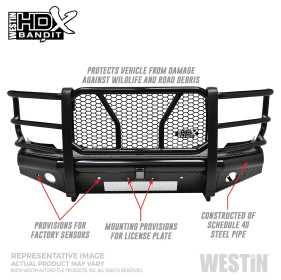 HDX Bandit Front Bumper 58-31135