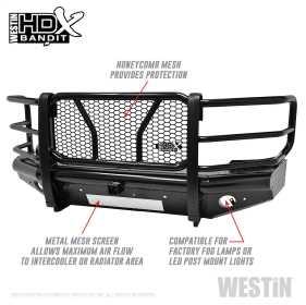 HDX Bandit Front Bumper 58-31155