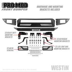 Pro-Mod Front Bumper 58-41015