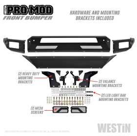 Pro-Mod Front Bumper 58-41025
