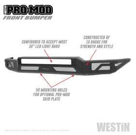 Pro-Mod Front Bumper 58-41035