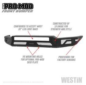 Pro-Mod Front Bumper 58-41045