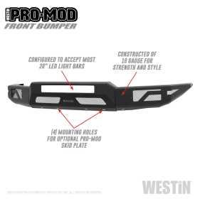 Pro-Mod Front Bumper 58-41055
